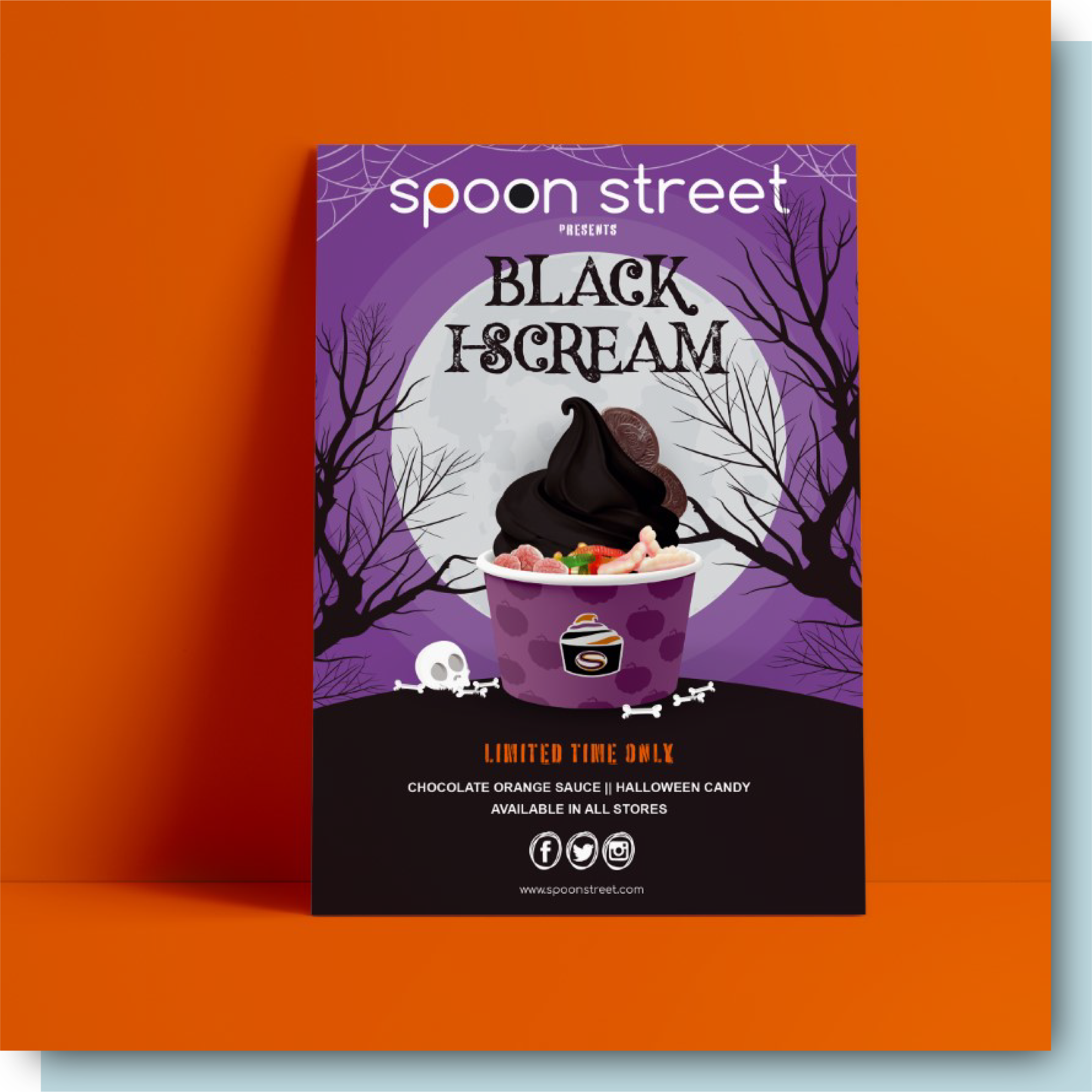 Spoon Street Print Design
